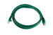 CAT5e Ethernet Patch Cable, Booted, 4ft, Green