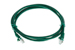 CAT5e Ethernet Patch Cable, Booted, 5ft, Green