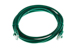 CAT5e Ethernet Patch Cable, Booted, 7ft, Green
