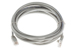CAT5e Ethernet Patch Cable, Booted, 10ft, Gray