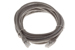 CAT5e Ethernet Patch Cable, Booted, 14ft, Gray