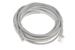 CAT5e Ethernet Patch Cable, Booted, 15ft, Gray