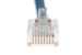 CAT5e Ethernet Patch Cable, Non-Booted, 1ft, Blue