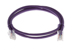 CAT5e Ethernet Patch Cable, Non-Booted, 3ft, Purple