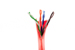 CAT5e Ethernet Patch Cable, Non-Booted, 2ft, Red