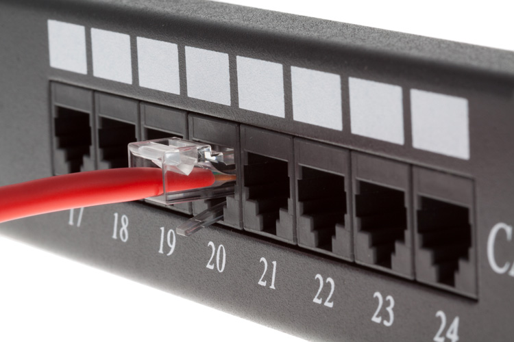 5ft Red Cat5e Non Booted Unshielded Ethernet Cables