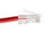 CAT5e Ethernet Patch Cable, Non-Booted, 10ft, Red