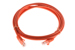 CAT5e Ethernet Patch Cable, Booted, 6ft, Orange