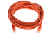 CAT5e Ethernet Patch Cable, Booted, 14ft, Orange