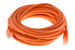 CAT5e Ethernet Patch Cable, Booted, 25ft, Orange