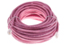CAT5e Ethernet Patch Cable, Booted, 50ft, Pink