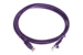 CAT5e Ethernet Patch Cable, Booted, 5ft, Purple