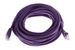 CAT5e Ethernet Patch Cable, Booted, 25ft, Purple
