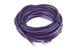 CAT5e Ethernet Patch Cable, Booted, 35ft, Purple