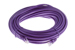 CAT5e Ethernet Patch Cable, Booted, 50ft, Purple