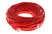 CAT5e Ethernet Patch Cable, Booted, 35ft, Red