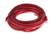 Cat5e Crossover Ethernet Patch Cable, Booted, 50ft, Red