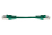 CAT5e Shielded Ethernet Patch Cable, Booted, 0.5ft, Green