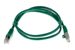 CAT5e Shielded Ethernet Patch Cable, Booted, 3ft, Green