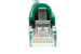 CAT5e Shielded Ethernet Patch Cable, Booted, 10ft, Green