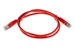 CAT5e Shielded Ethernet Patch Cable, Booted, 3ft, Red