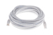 CAT5e Ethernet Patch Cable, Booted, 20ft, White