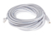 CAT5e Ethernet Patch Cable, Booted, 25ft, White