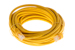 CAT5e Ethernet Patch Cable, Booted, 25ft, Yellow