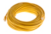 CAT5e Ethernet Patch Cable, Booted, 75ft, Yellow