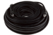 CAT6A Ethernet Patch Cable, Booted, 100ft, Black