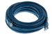 CAT6A Ethernet Patch Cable, Booted, 25ft, Blue