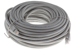 CAT6A Ethernet Patch Cable, Booted, 75ft, Gray