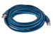 CAT6A Shielded Ethernet Patch Cable, Booted, 15ft, Blue