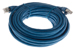 CAT6A Shielded Ethernet Patch Cable, Booted, 25ft, Blue