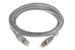 CAT6A Shielded Ethernet Patch Cable, Booted, 6ft, Gray