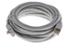 CAT6A Shielded Ethernet Patch Cable, Booted, 15ft, Gray