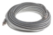 CAT6A Shielded Ethernet Patch Cable, Booted, 50ft, Gray