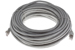 CAT6A Shielded Ethernet Patch Cable, Booted, 75ft, Gray