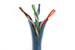CAT6 Ethernet Patch Cable, Booted, 5ft, Blue