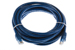 CAT6 Ethernet Patch Cable, Booted, 14ft, Blue
