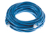 CAT6 Ethernet Patch Cable, Booted, 25ft, Blue