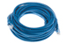 CAT6 Ethernet Patch Cable, Booted, 30ft, Blue