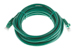 CAT6 Ethernet Patch Cable, Booted, 10ft, Green