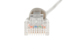 CAT6 Ethernet Patch Cable, Booted, 1ft, Gray