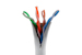 CAT6 Ethernet Patch Cable, Booted, 7ft, Gray