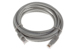 CAT6 Ethernet Patch Cable, Booted, 10ft, Gray