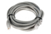 CAT6 Ethernet Patch Cable, Booted, 14ft, Gray