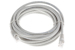 CAT6 Ethernet Patch Cable, Booted, 15ft, Gray