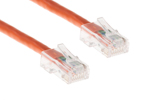 CAT6 Ethernet Patch Cable, Non-Booted, 7ft, Orange