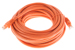 CAT6 Ethernet Patch Cable, Booted, 25ft, Orange